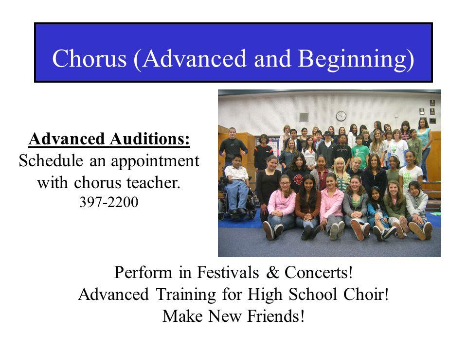 Chorus (Advanced and Beginning)