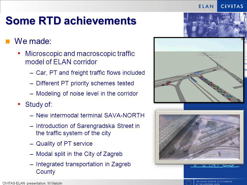 Some RTD achievements We made: