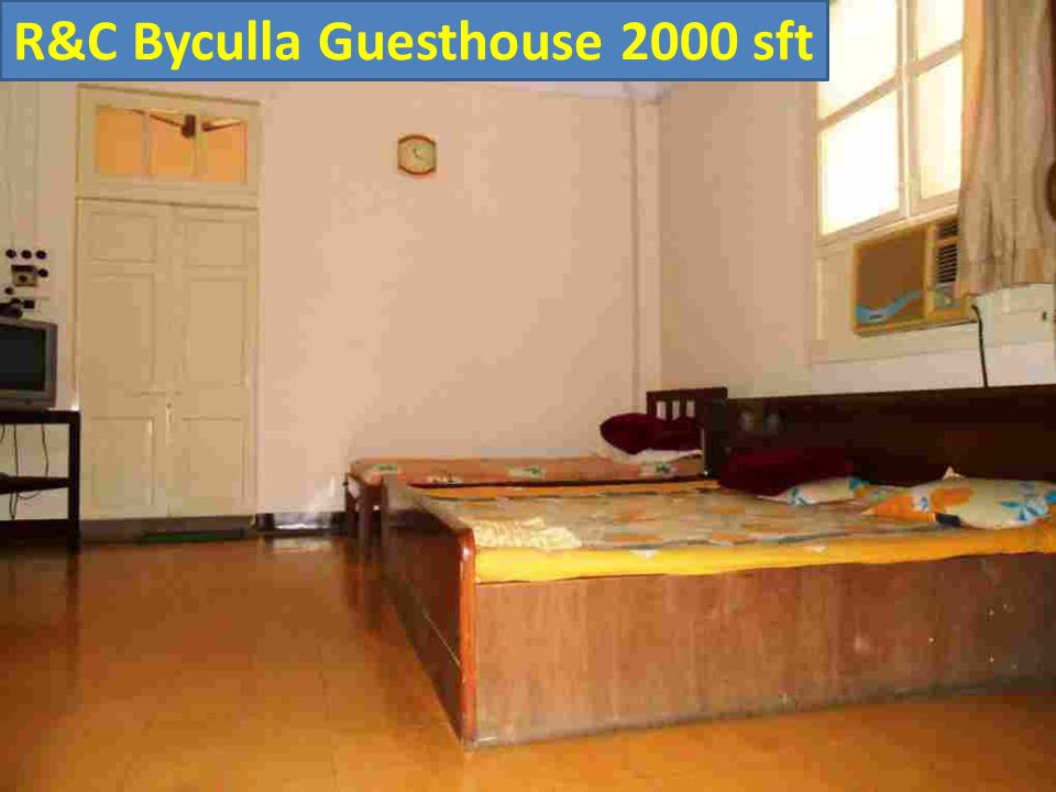 R&C Byculla Guesthouse 2000 sft