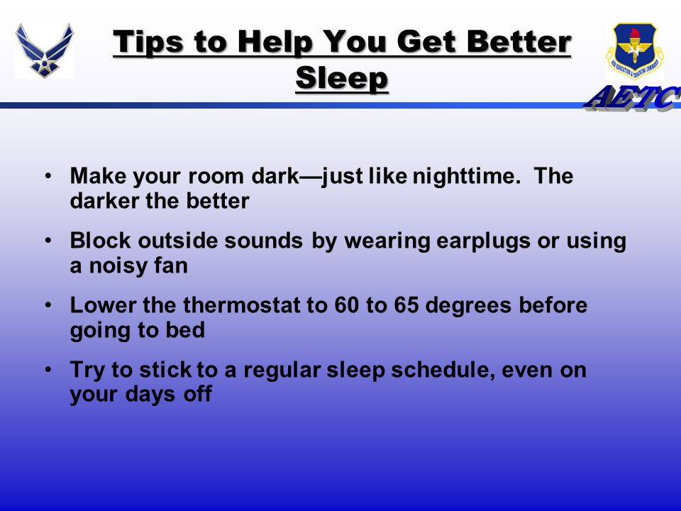 how to help you get to sleep