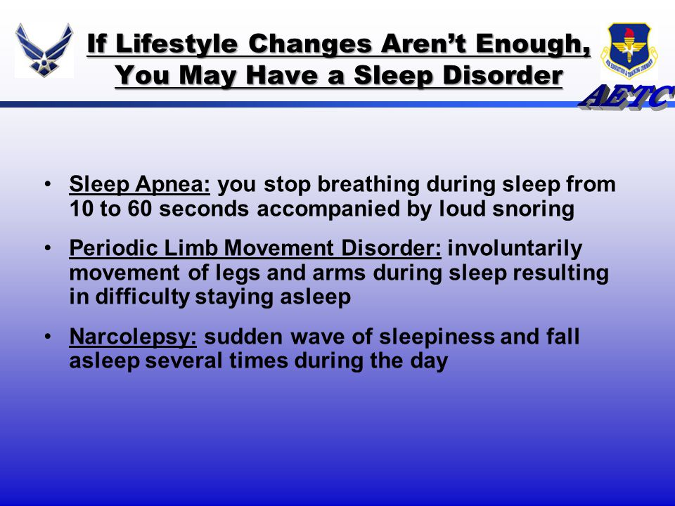 If Lifestyle Changes Aren't Enough, You May Have a Sleep Disorder