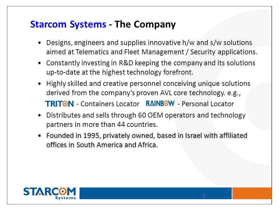 Starcom Systems - The Company