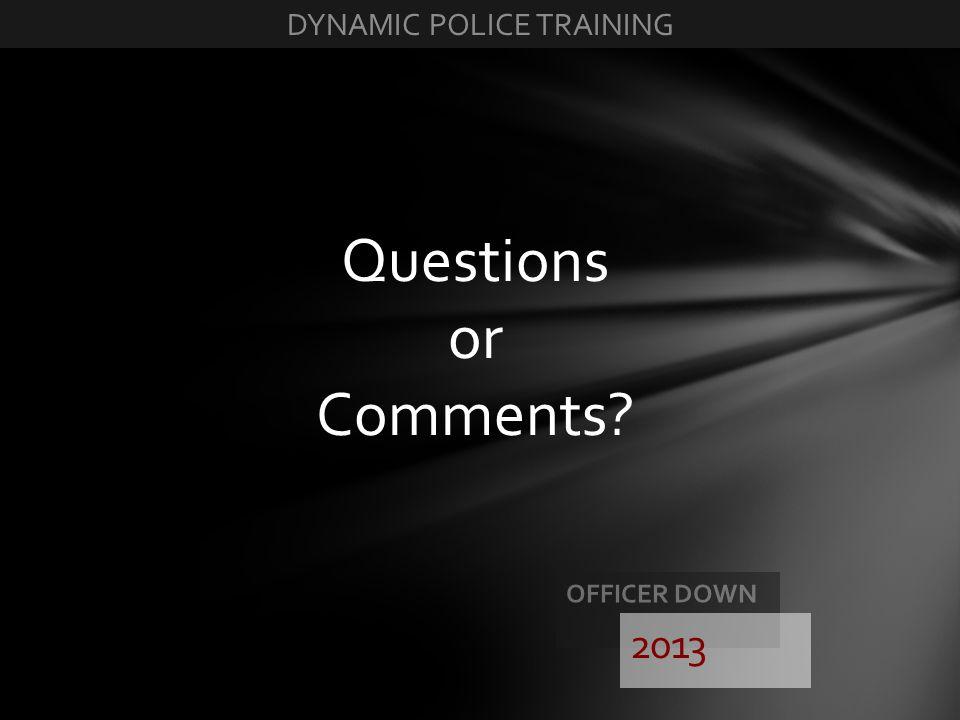 DYNAMIC POLICE TRAINING