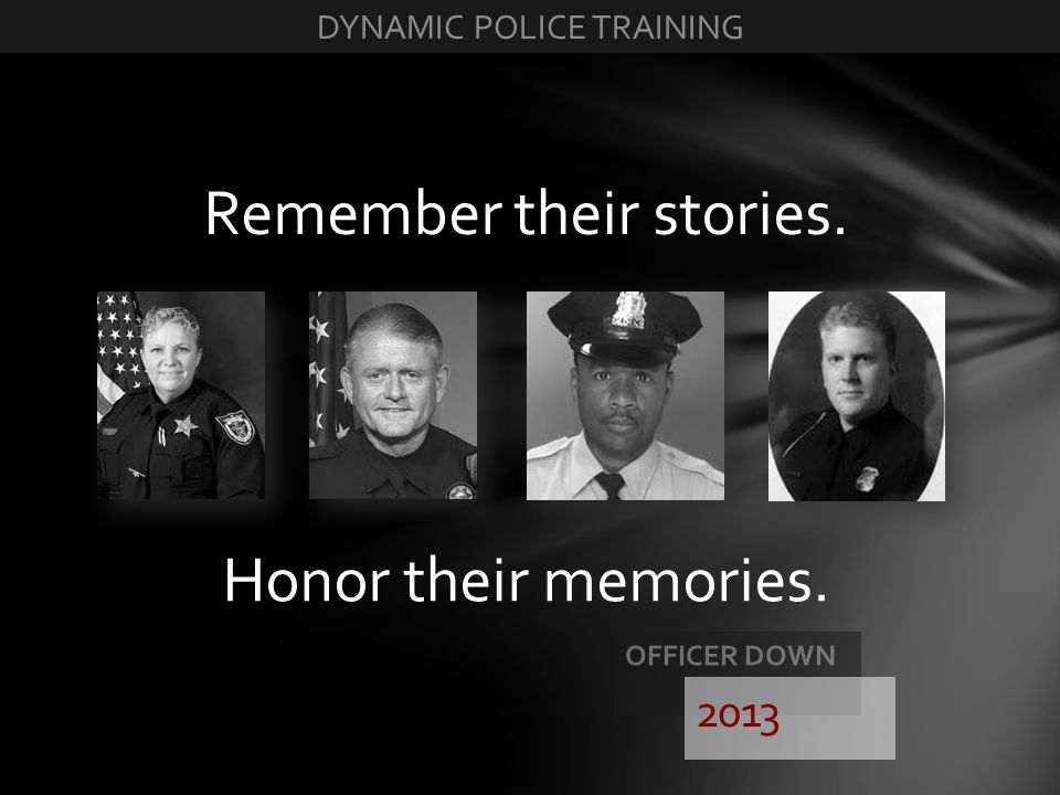 Remember their stories.