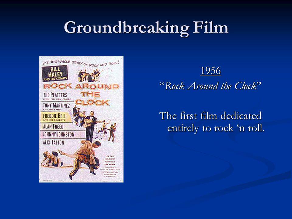 Groundbreaking Film 1956 Rock Around the Clock