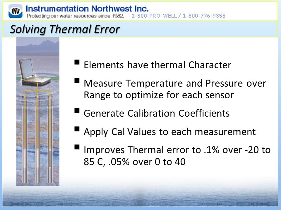 Solving Thermal Error Elements have thermal Character