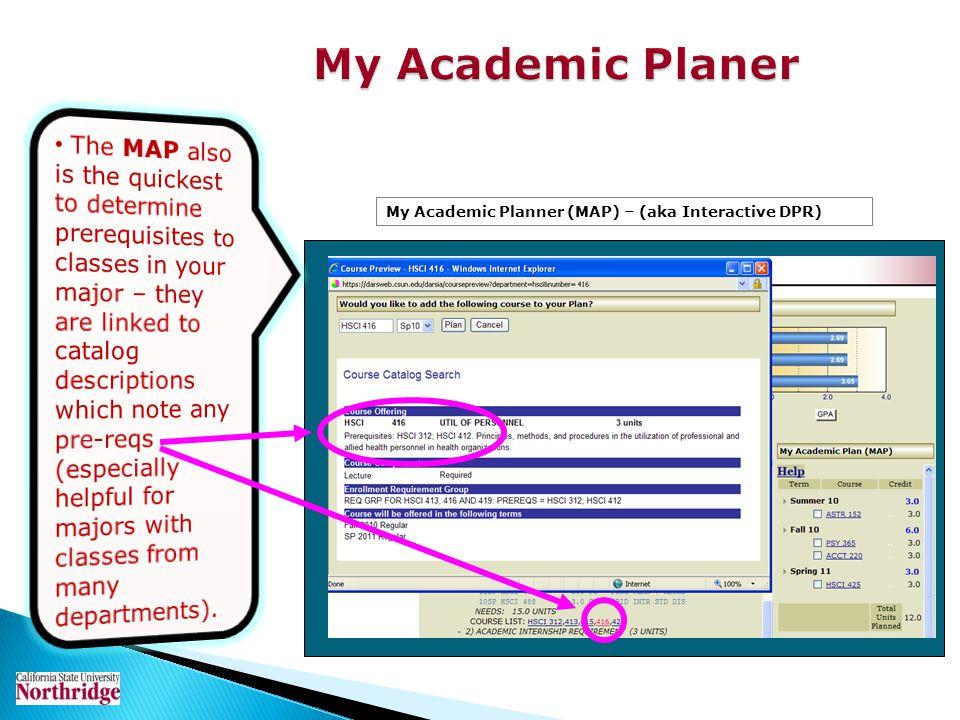 My Academic Planer