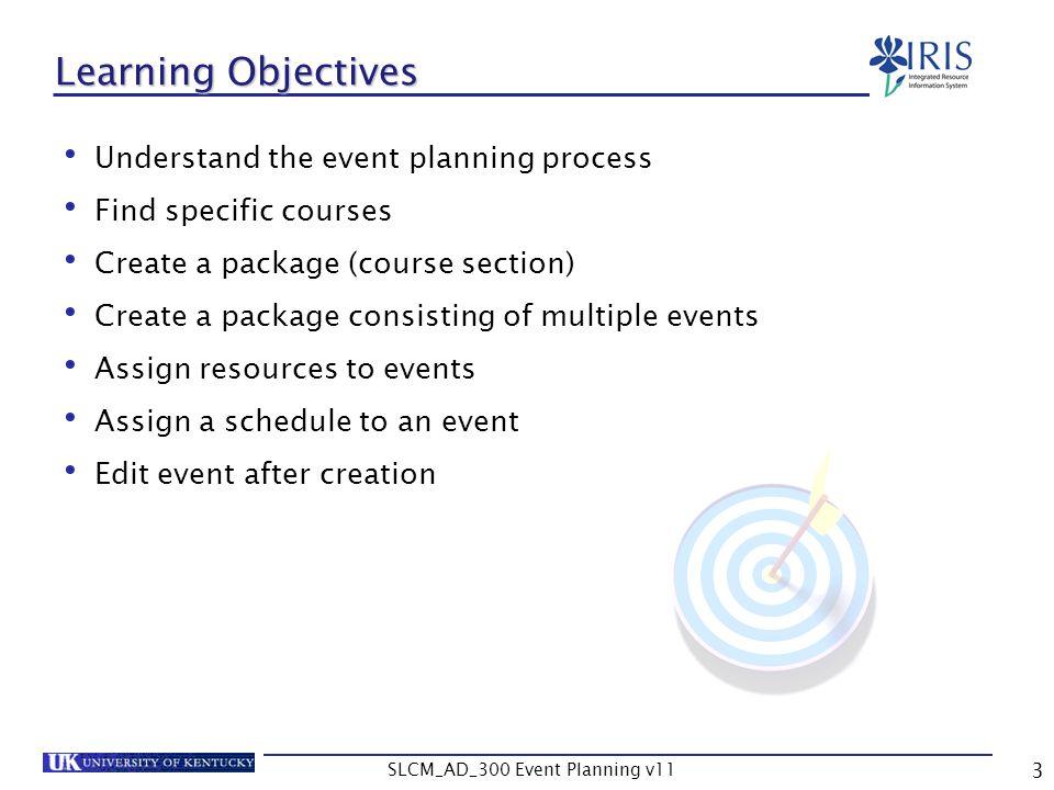 SLCM_AD_300 Event Planning v11