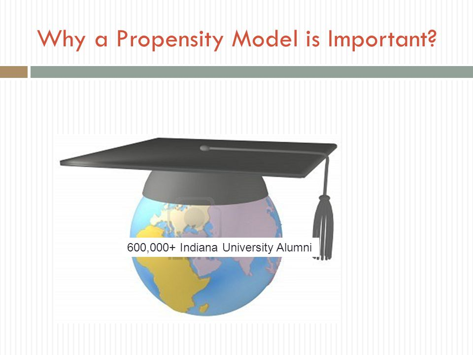 Why a Propensity Model is Important