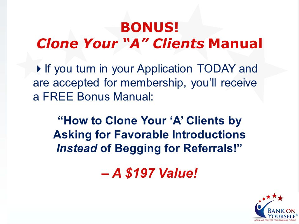 Clone Your A Clients Manual
