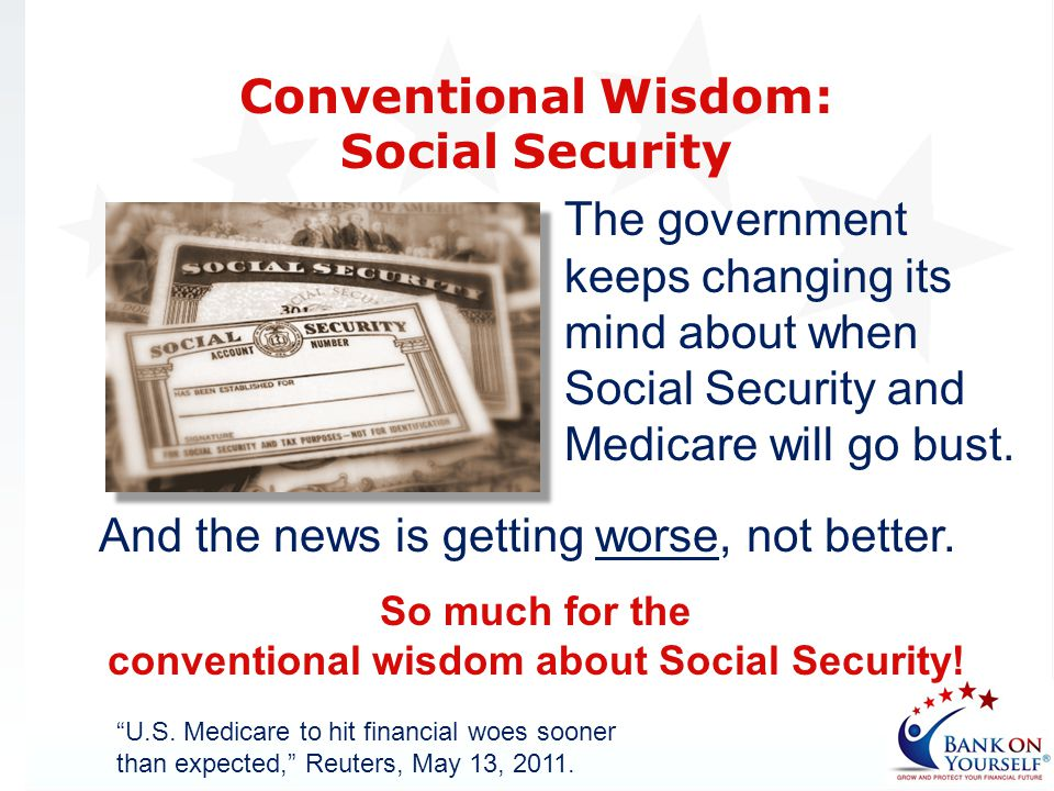 So much for the conventional wisdom about Social Security!