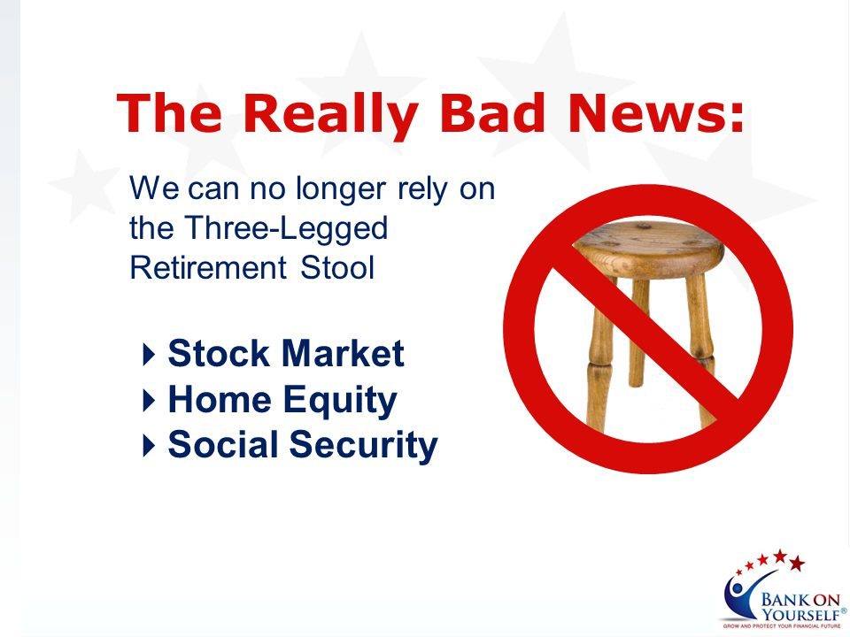 The Really Bad News: Stock Market Home Equity Social Security