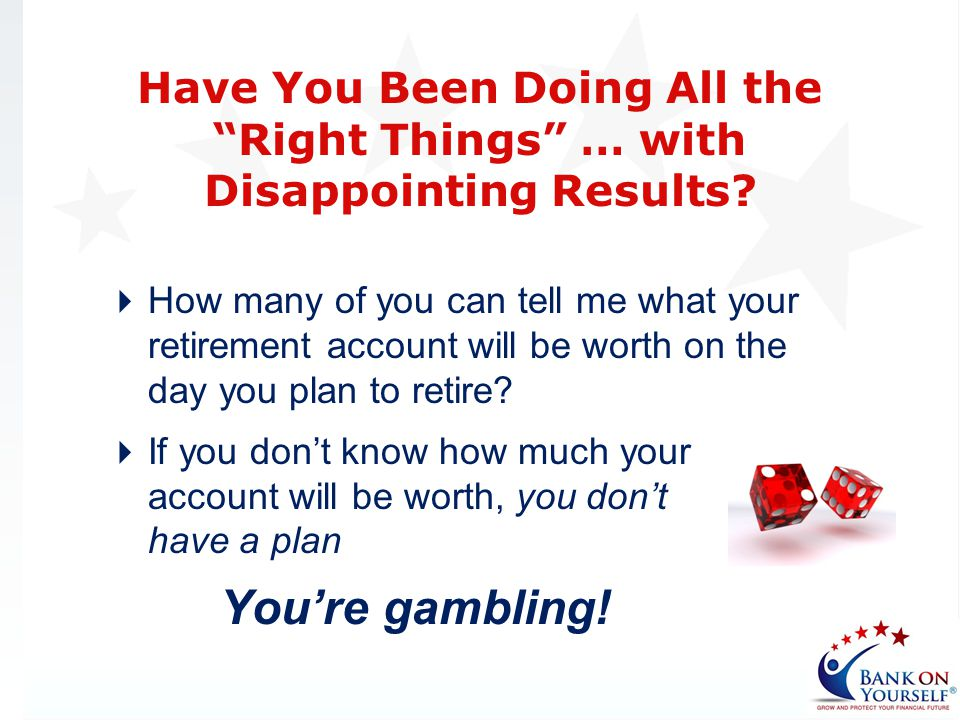 Have You Been Doing All the Right Things … with Disappointing Results