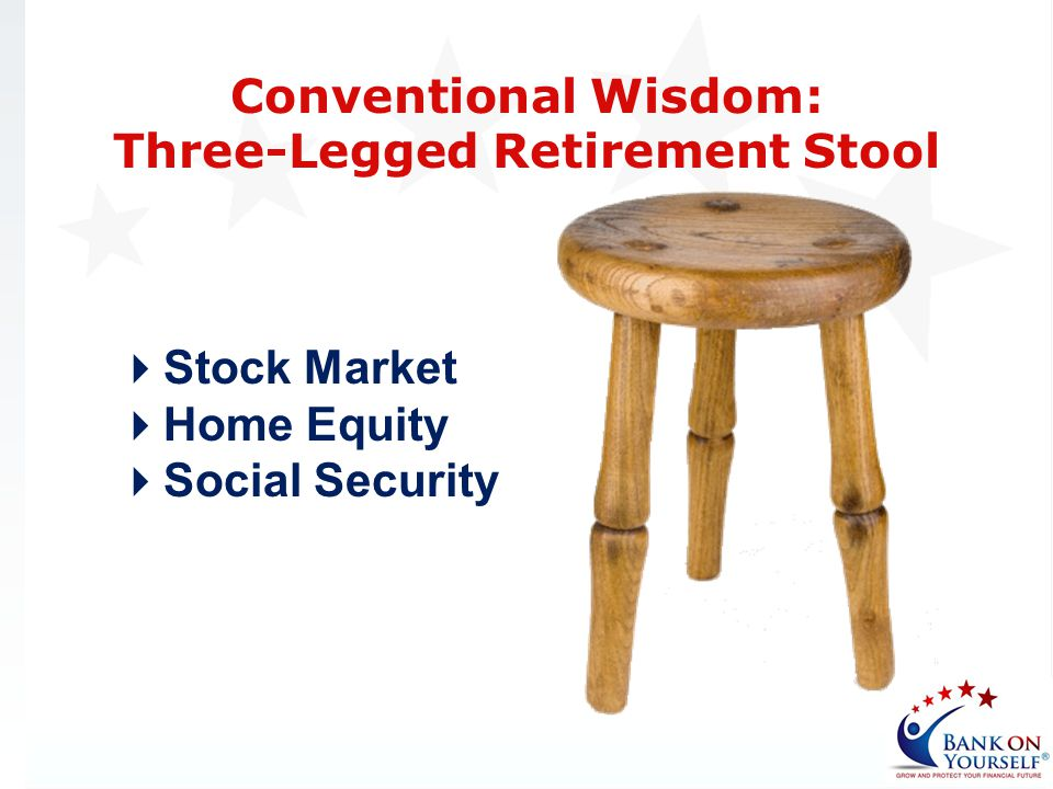 Three-Legged Retirement Stool