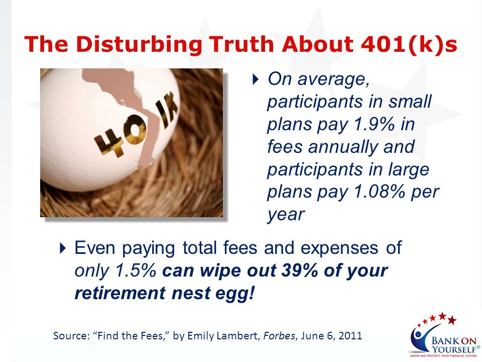 The Disturbing Truth About 401(k)s