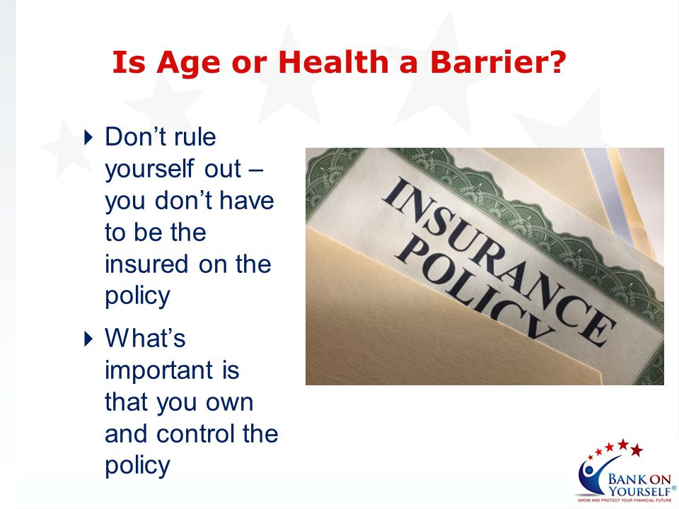 Is Age or Health a Barrier