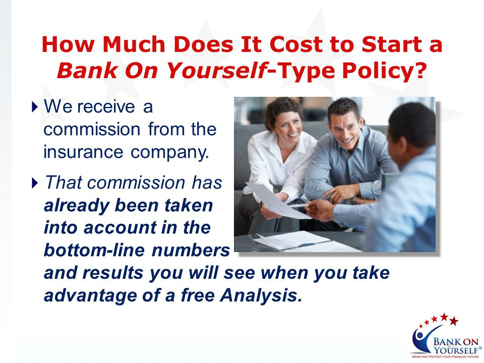 How Much Does It Cost to Start a Bank On Yourself-Type Policy