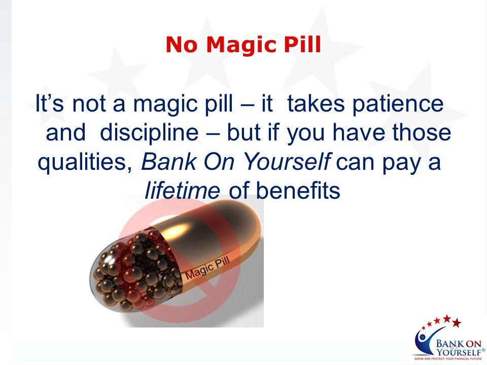No Magic Pill