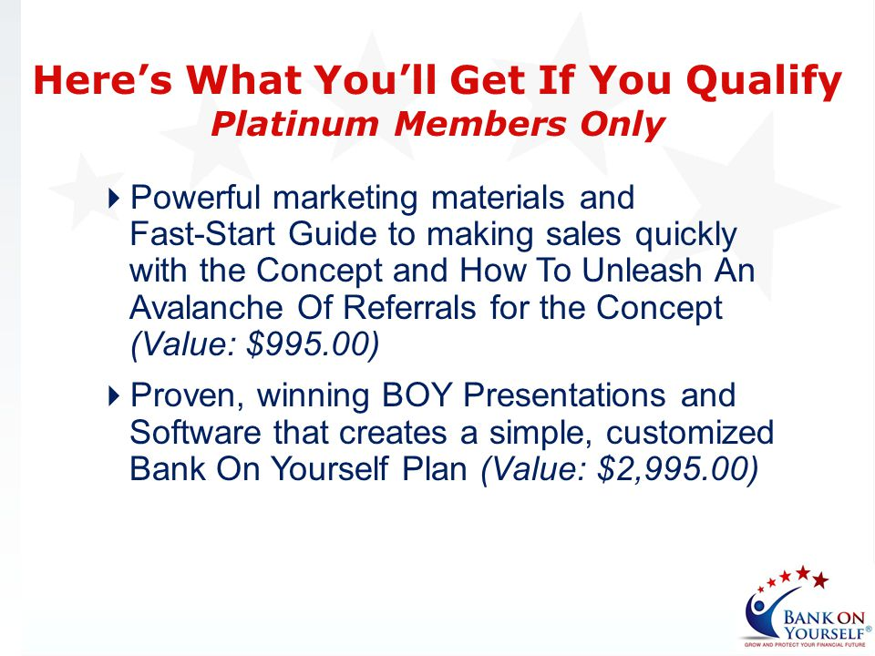 Here's What You'll Get If You Qualify