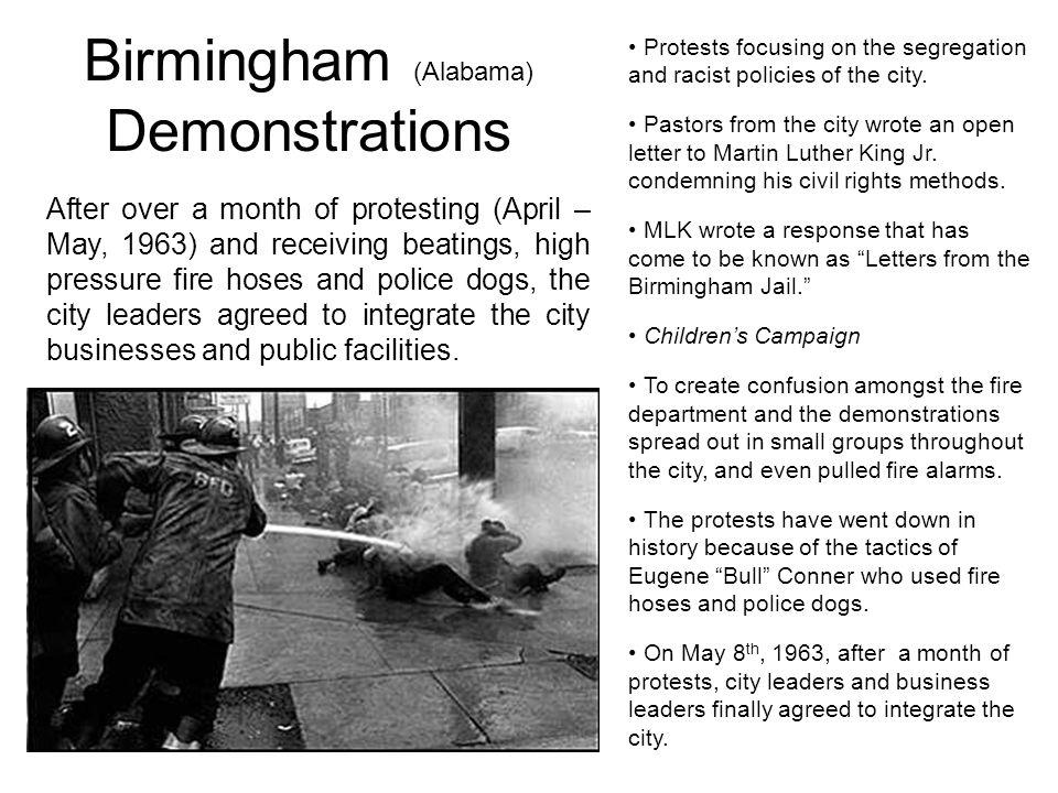 Birmingham (Alabama) Demonstrations