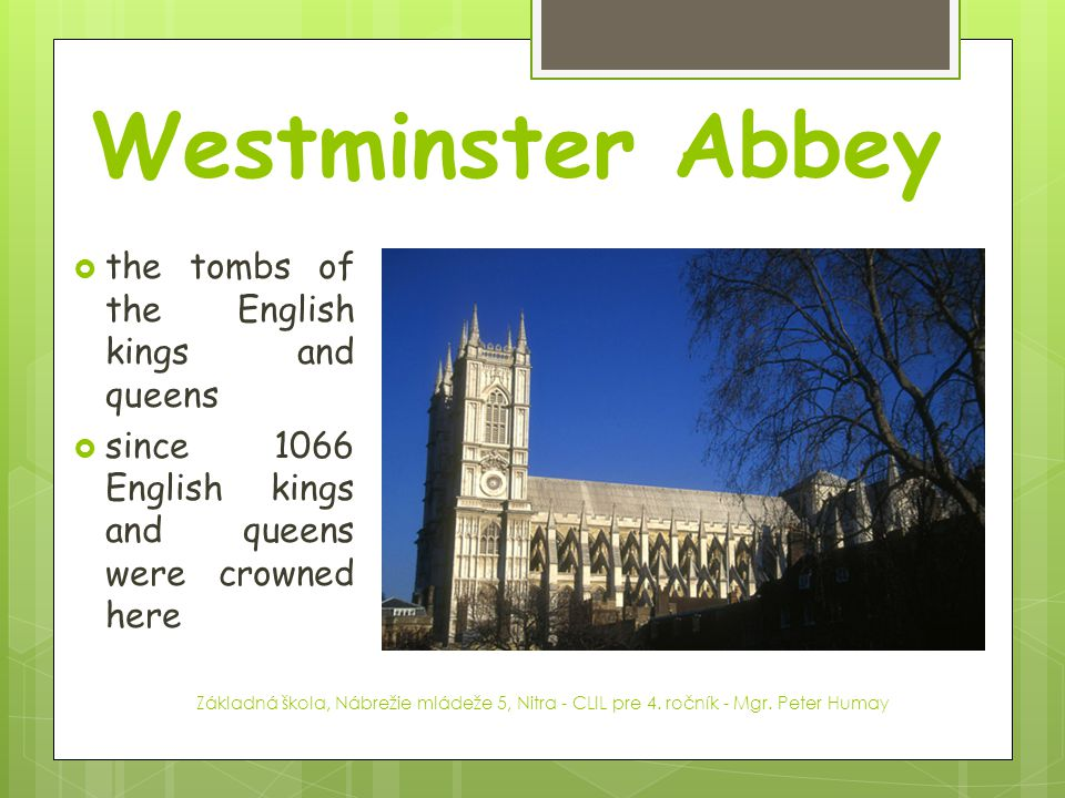 Westminster Abbey the tombs of the English kings and queens