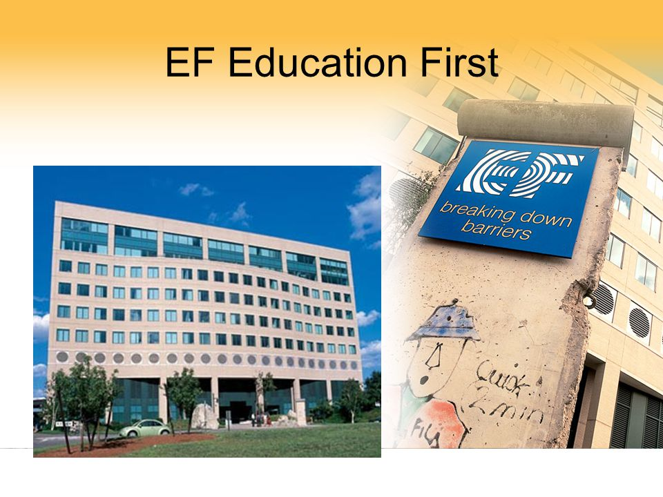 EF Education First EF Ctr, Cambridge. New building. Walk past Berlin Wall every day.