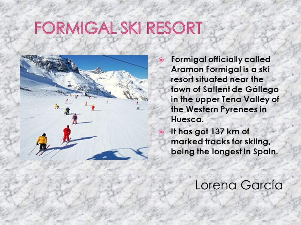 FORMIGAL SKI RESORT Lorena García