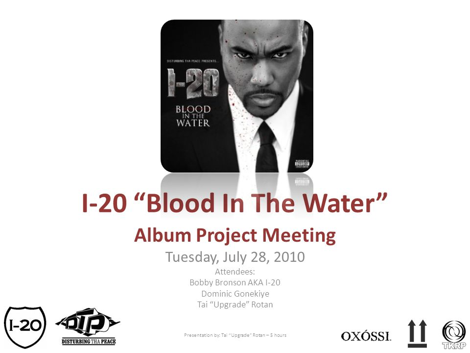 I-20 Blood In The Water
