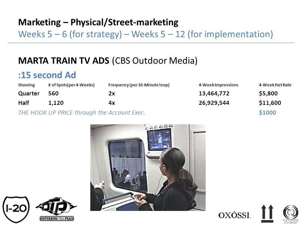MARTA TRAIN TV ADS (CBS Outdoor Media) :15 second Ad