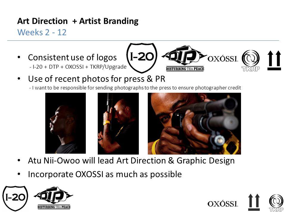 Art Direction + Artist Branding Weeks 2 - 12