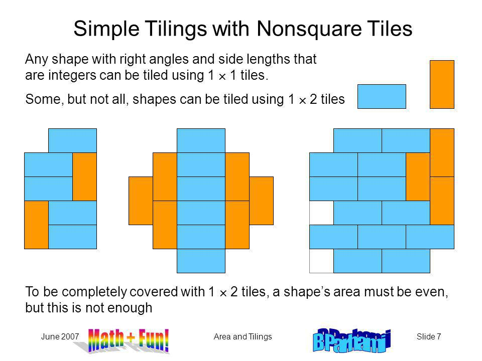Simple Tilings with Nonsquare Tiles