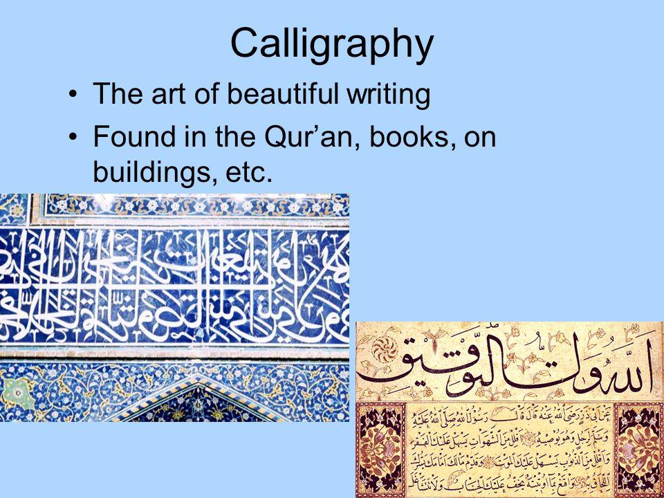 Calligraphy The art of beautiful writing