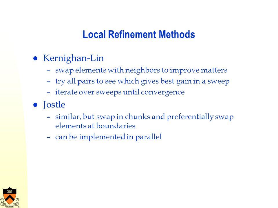Local Refinement Methods