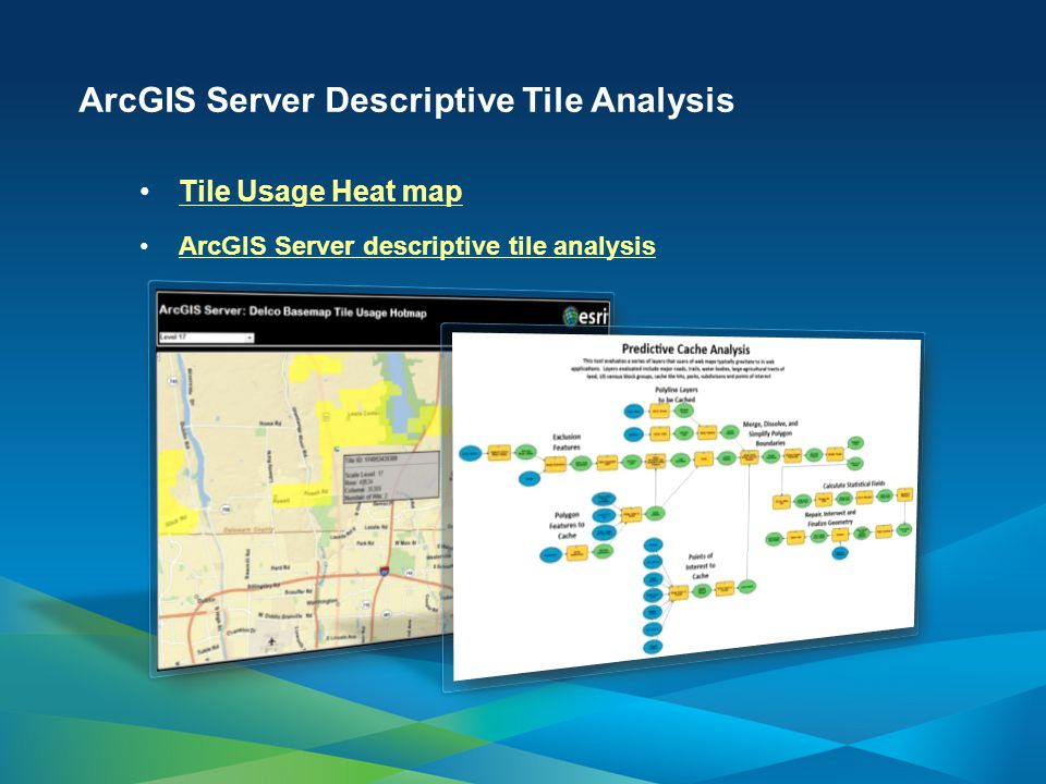 ArcGIS Server Descriptive Tile Analysis