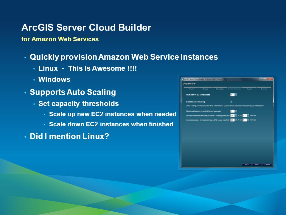 ArcGIS Server Cloud Builder