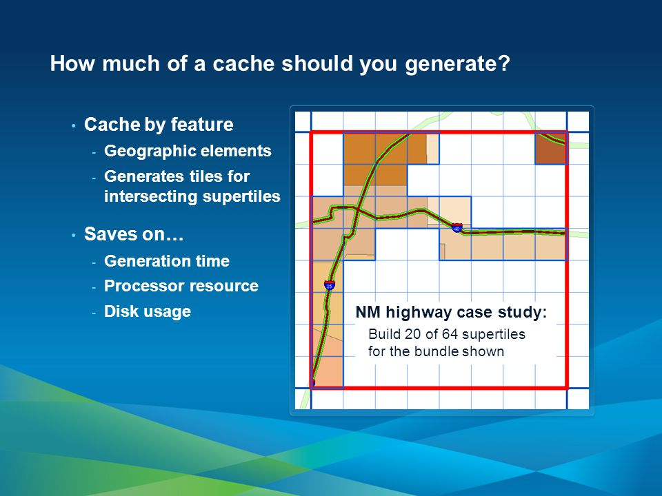 How much of a cache should you generate