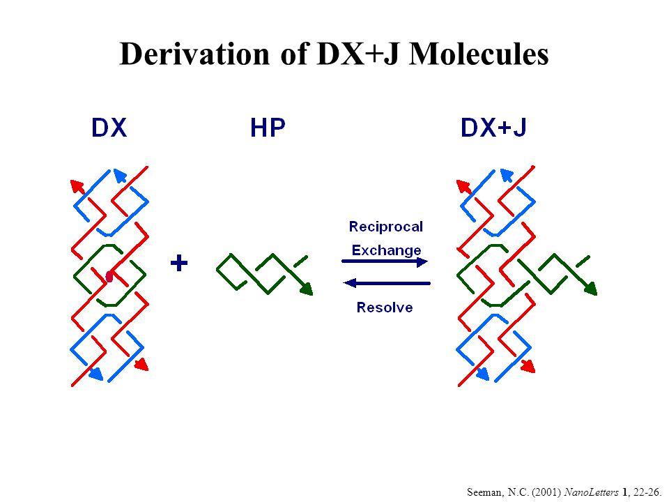 Derivation of DX+J Molecules