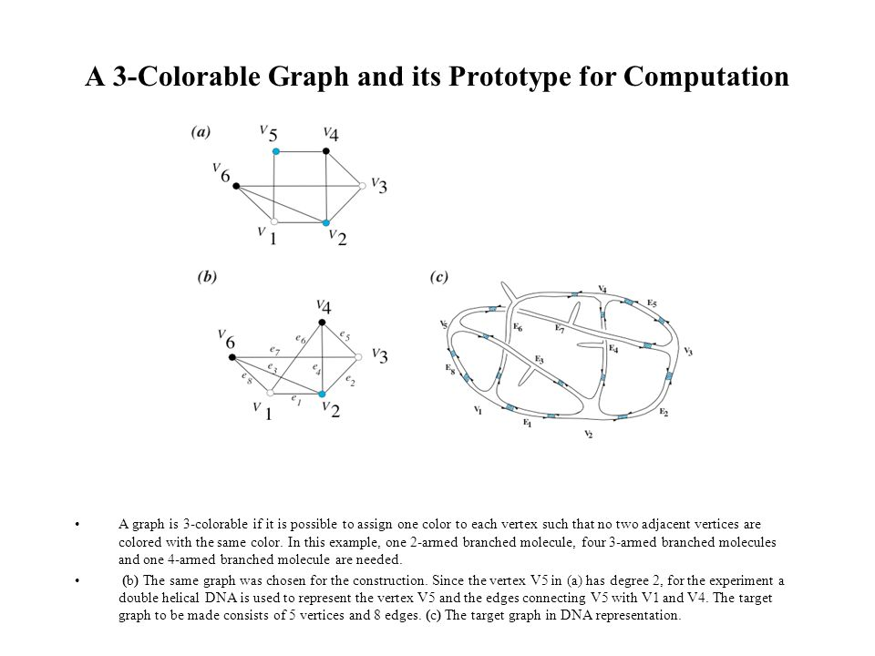 A 3-Colorable Graph and its Prototype for Computation