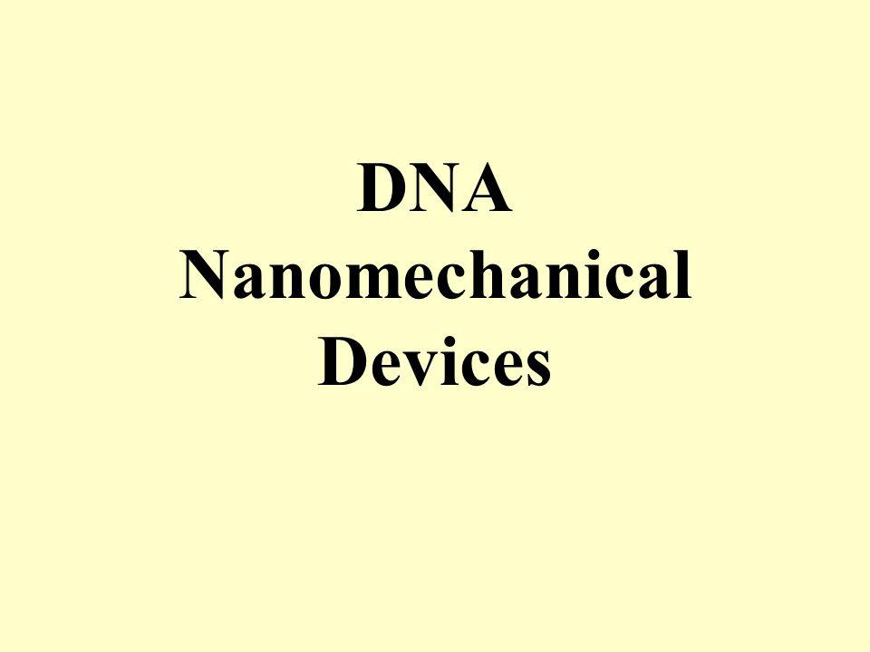 DNA Nanomechanical Devices