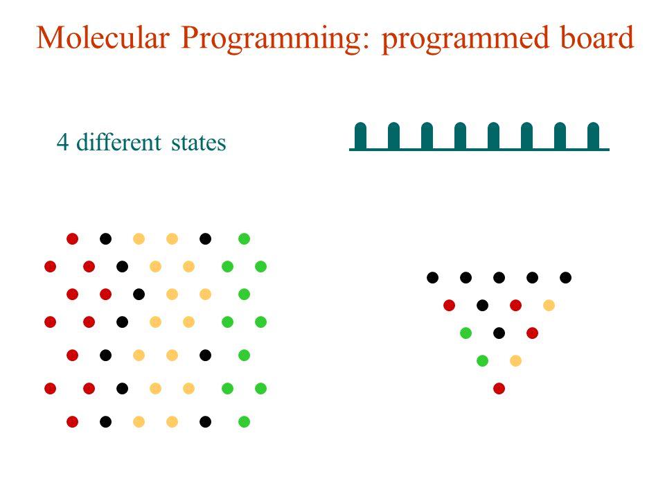 Molecular Programming: programmed board