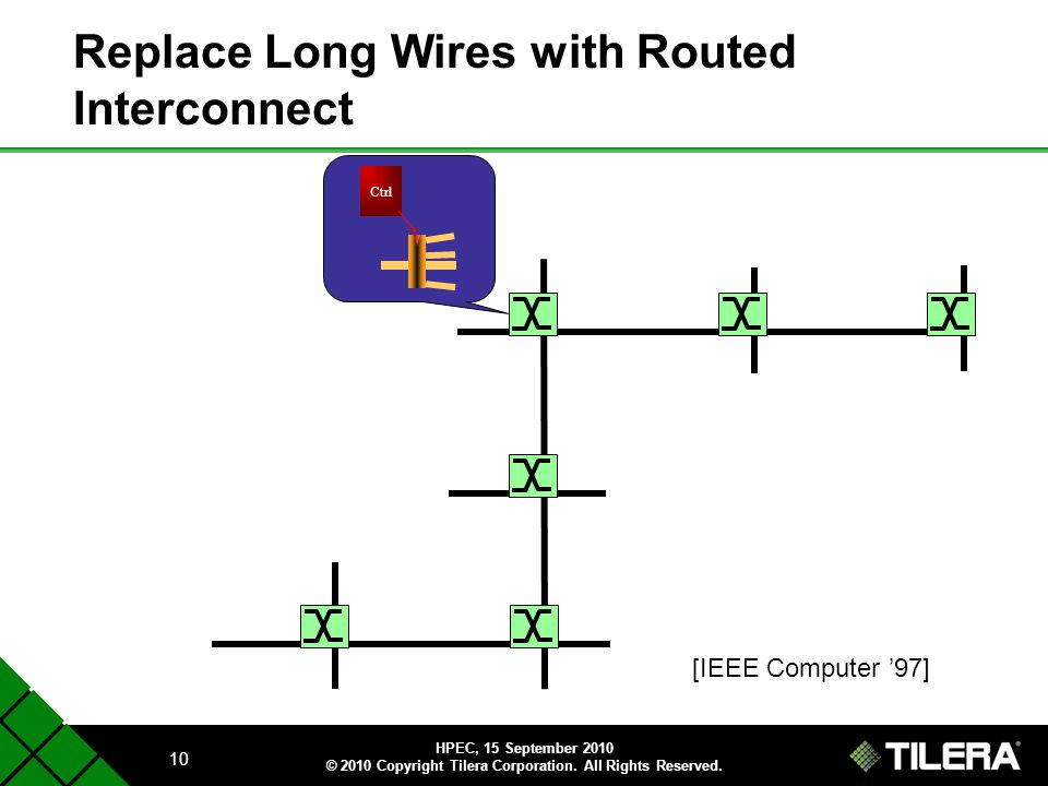 Replace Long Wires with Routed Interconnect