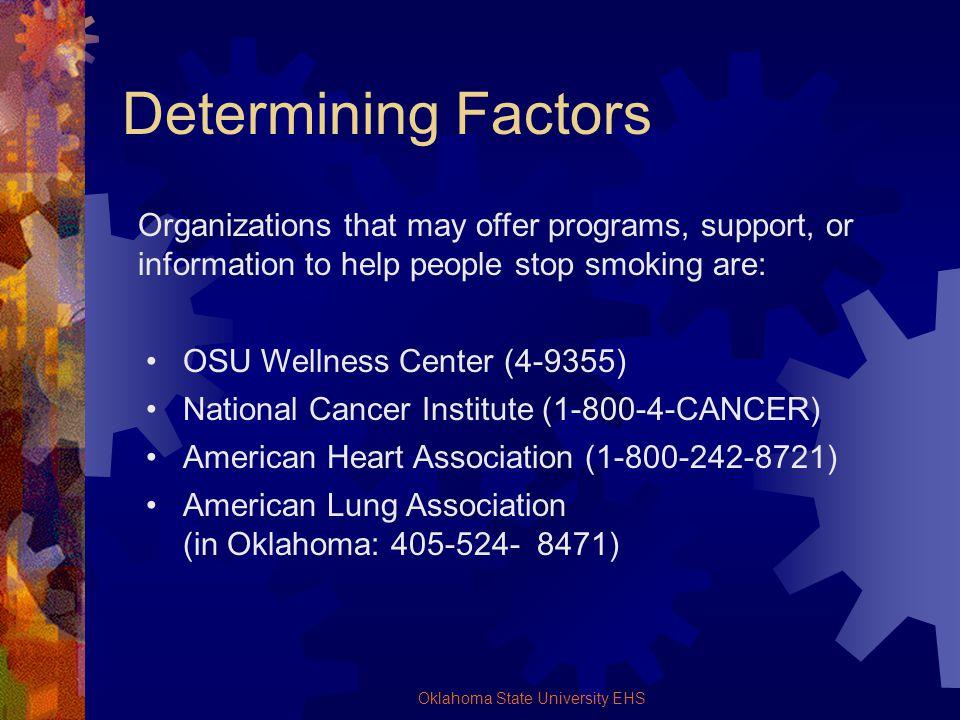 Oklahoma State University EHS