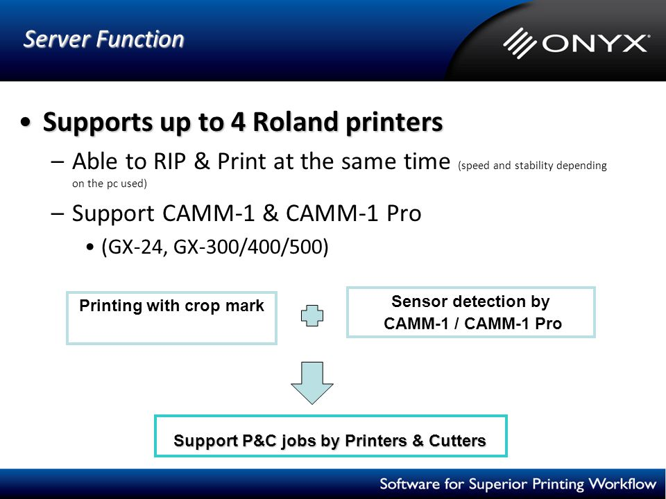 Printing with crop mark