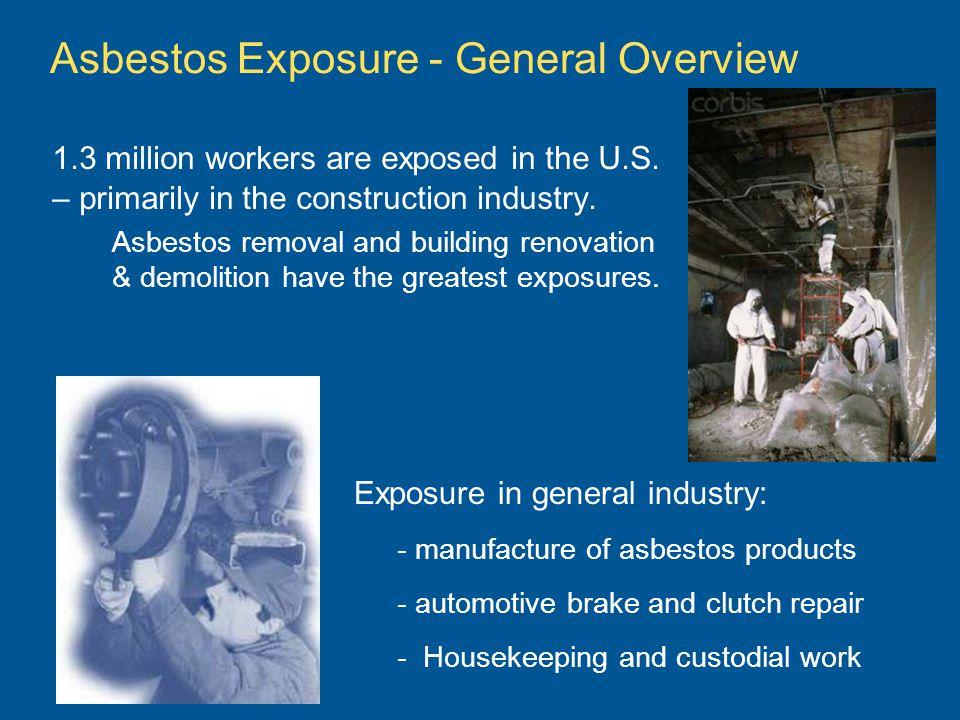 Asbestos Exposure - General Overview
