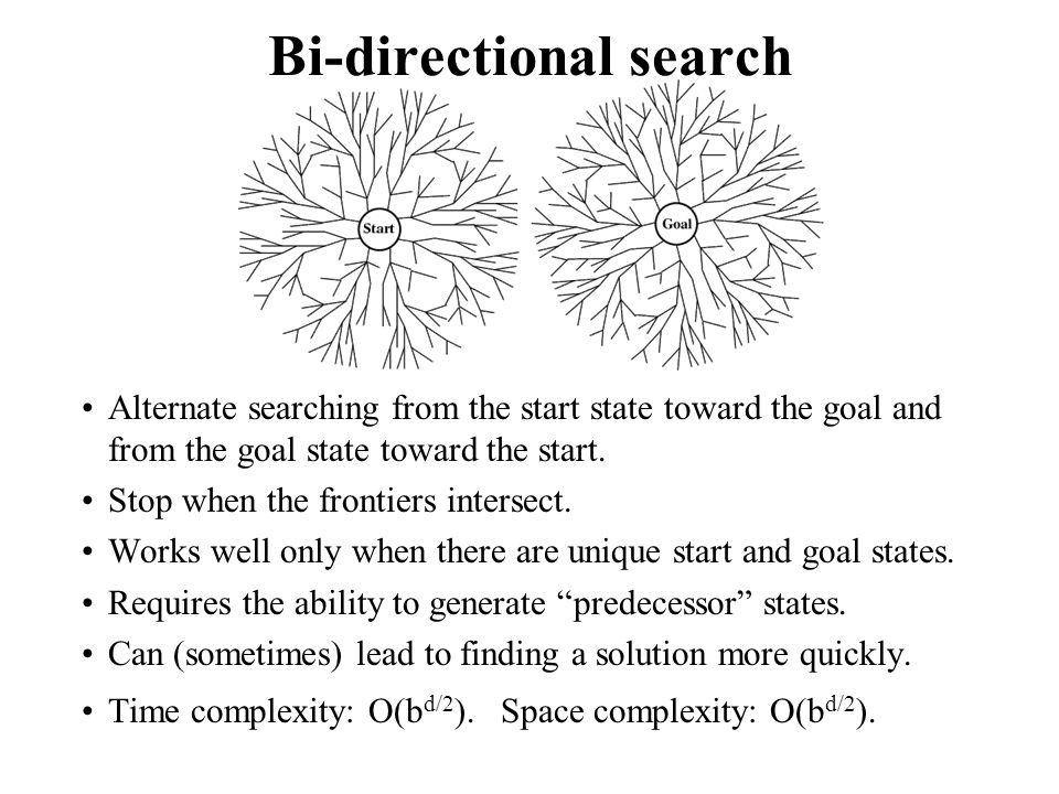 Bi-directional search