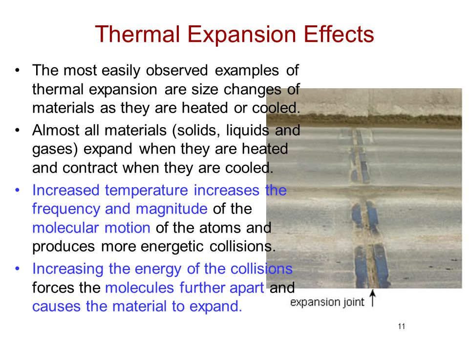 Thermal Expansion Effects