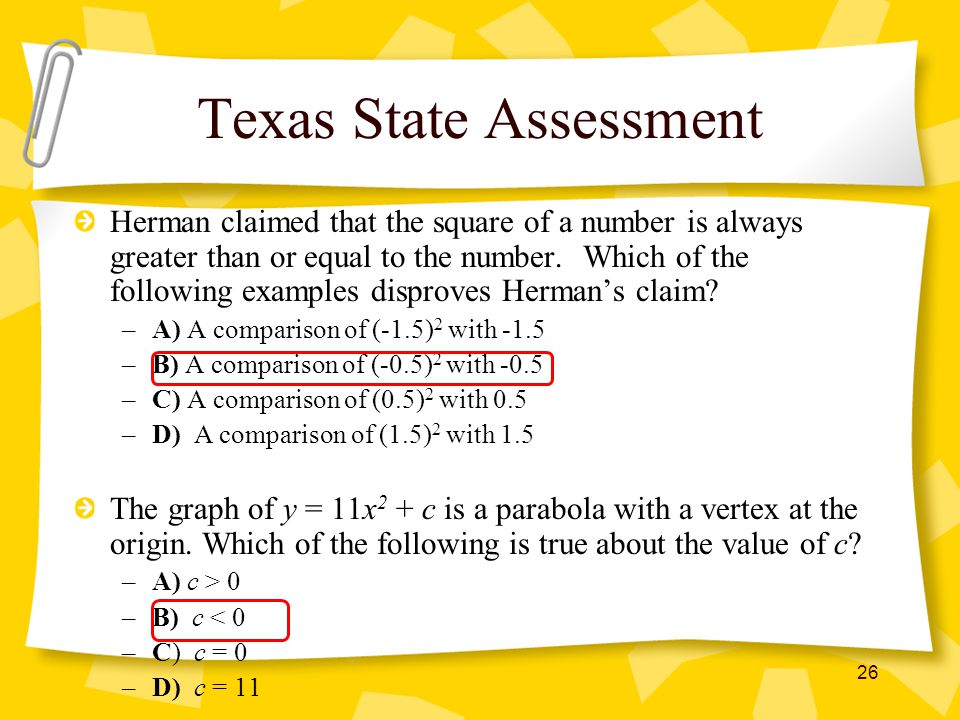 Texas State Assessment