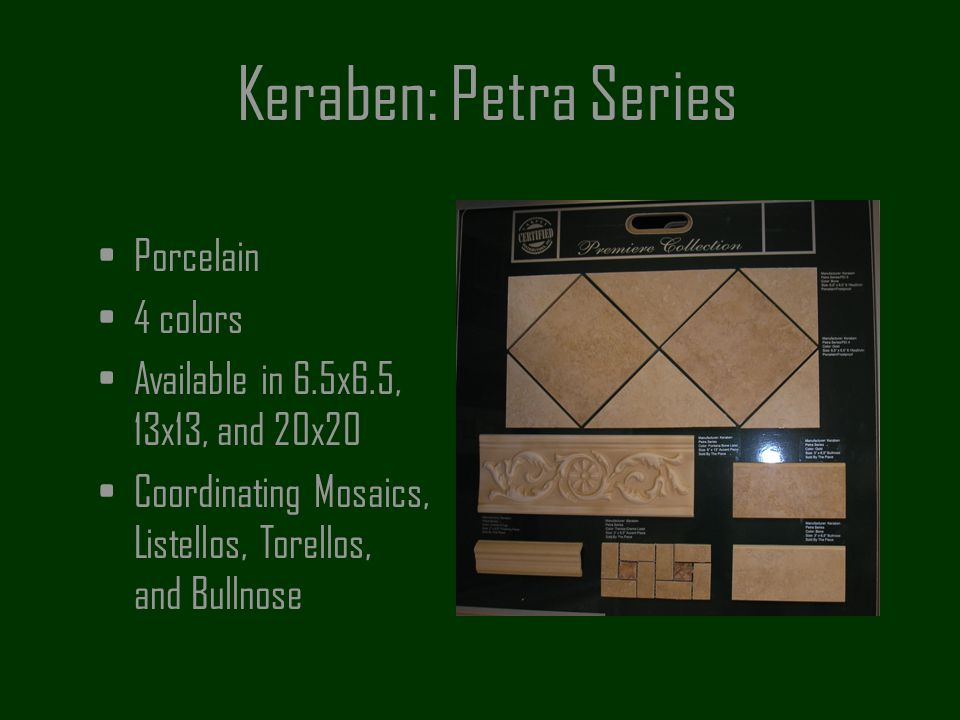 Keraben: Petra Series Porcelain 4 colors