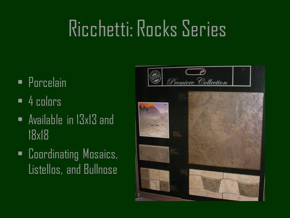 Ricchetti: Rocks Series