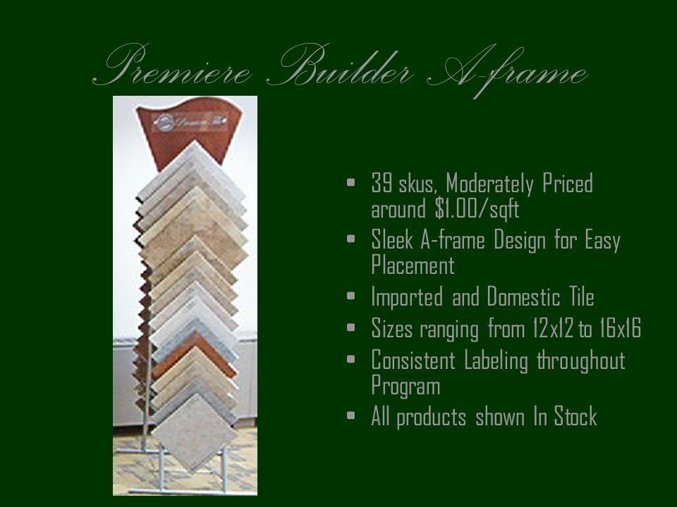 Premiere Builder A-frame